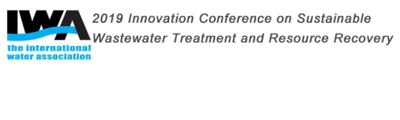 2019 IWA Innovation Conference on Sustainable Wastewater Treatment and Resource Recovery