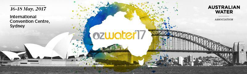 Ozwater'17 - Embracing Innovation and Disruption for a Smart Water Future