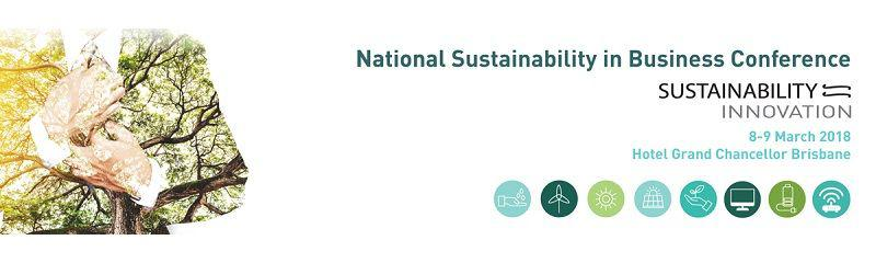2018 National Sustainability in Business Conference
